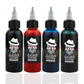 OPHIR 60 ML/Bottle Airbrush Ink Black/Red/Blue/Tattoo Color for Body Paint Temporary Tattoo Ink Pigment Body Art Color _TA099-1