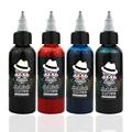 Ophir 60 ml/bottle tinta spray preto/vermelho/azul/cor do tatuagem para o corpo pintura tatuagem temporária arte corporal tinta pigmentada cor _ ta099-1