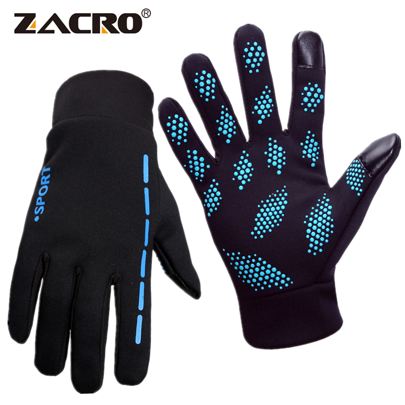Zacro Cycling Bike Gloves Bicycle Mtb Glove Full Finger Gloves Screen Touch for Winter Autumn Guantes Ciclismo Guanti Ciclismo racmmer cycling gloves guantes ciclismo non slip breathable mens