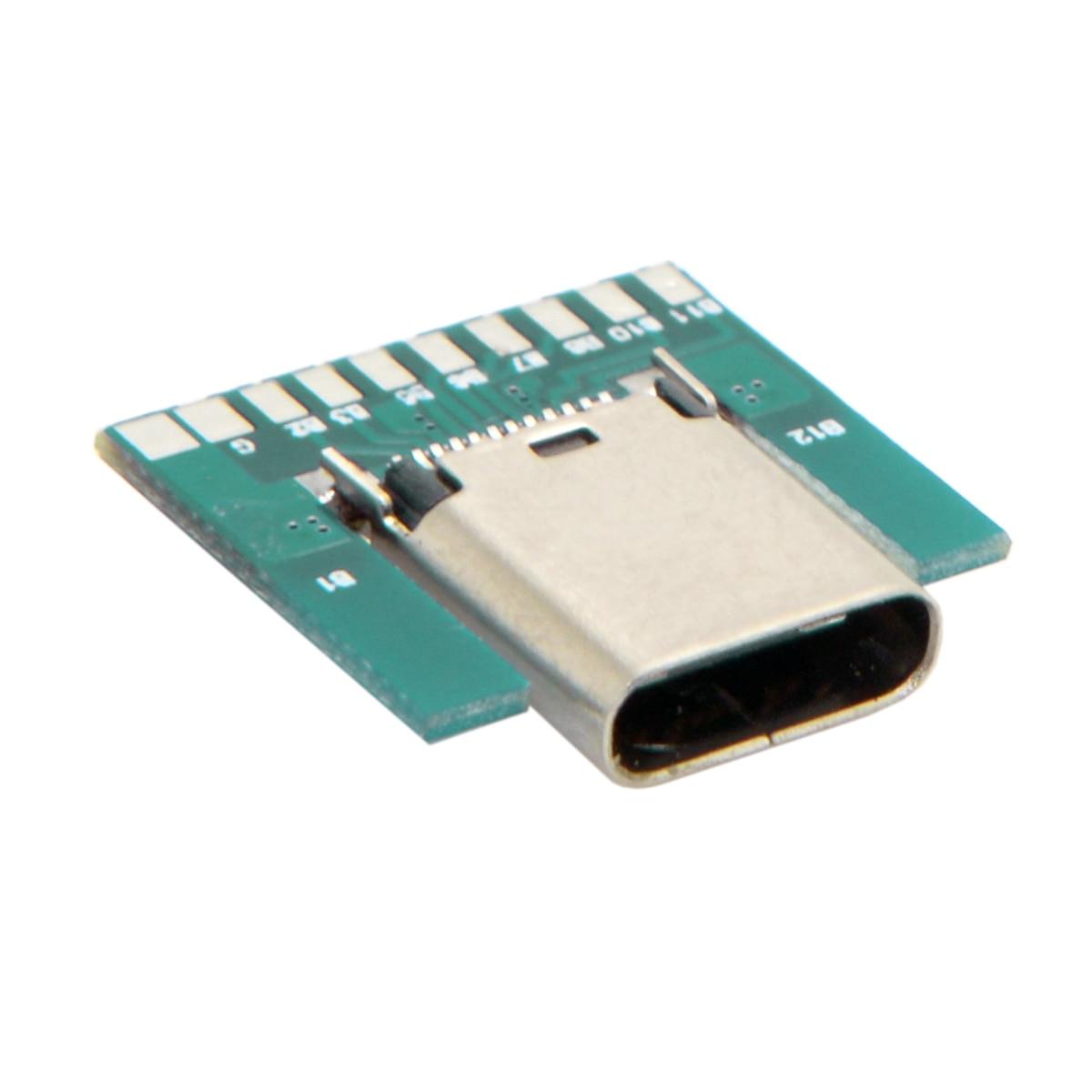 CY DIY 24pin USB 3.1 Type C Female Socket Connector SMT Type ...