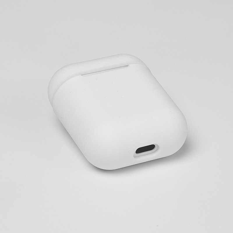 ل Airpod أبل اللاسلكية سماعات الأذن المطاط حافظة Fone دي ouvido لينة غطاء سيليكون ل Airpods آيفون شحن صندوق