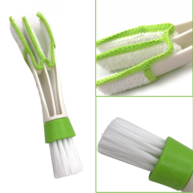 Car Washer Microfiber Brush Car Cleaning Brush Air-condition Cleaner Computer Keyboard Vent Window Supplies Versatile Cleaning
