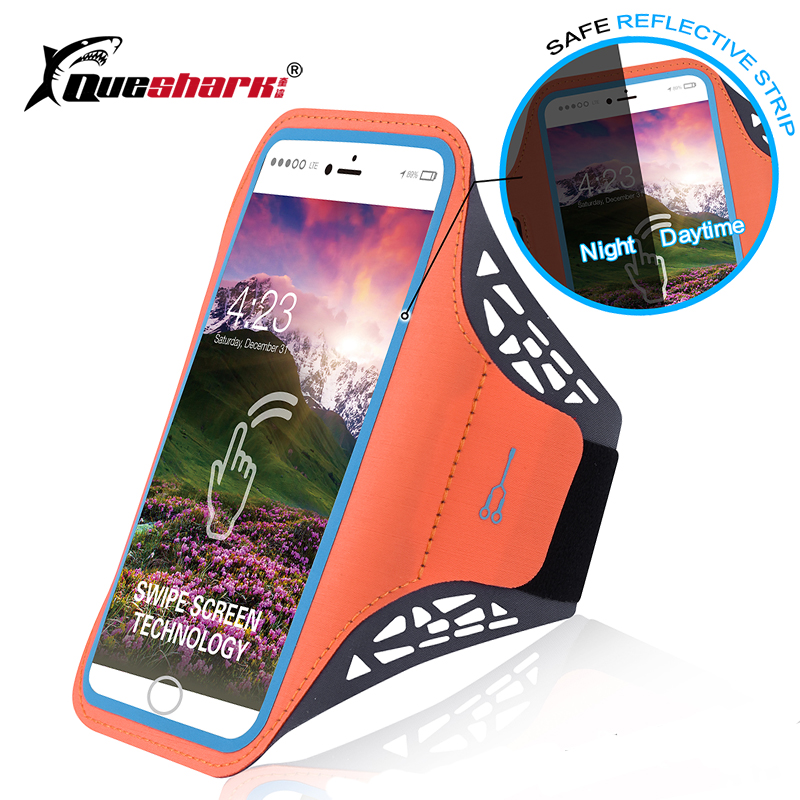 Candid Running Bags Men Women 5.6 Inch Touch Screen Cell Phone Armband Bag Sports Gym Fitness Jogging Run Arm Bag Accessories Utmost In Convenience