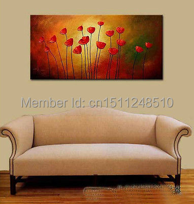 Wholesale oil painting  48 inches BLOOMING  Large Living Room ART deco OIL  paintingCompare Prices on Painting Cost  Online Shopping Buy Low Price  . Cost To Paint A Large Living Room. Home Design Ideas
