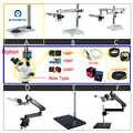 PHONEFIX 3.5X-90X Microscope stéréo Zoom 14 16 20MP caméra 144LED objectif lentille Microscope pour réparation de carte mère de téléphone portable