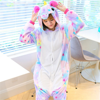 New Year S Pajamas One Piece Panda Unisex Unicorn Party Pajamas Sets Animal Costume Cosplay Sleepwear