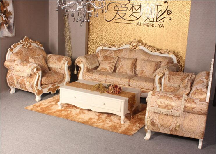 living room furniture modern fabric sofa European sectional sofa set d1432
