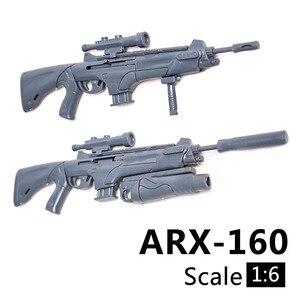 Image 3 - Масштаб 1:6, 1/6, 12 дюймовые экшн фигурки, строительная винтовка, модель оружия для 1/100 мг, модель Bandai Gundam, детские игрушки солдаты HYT0324