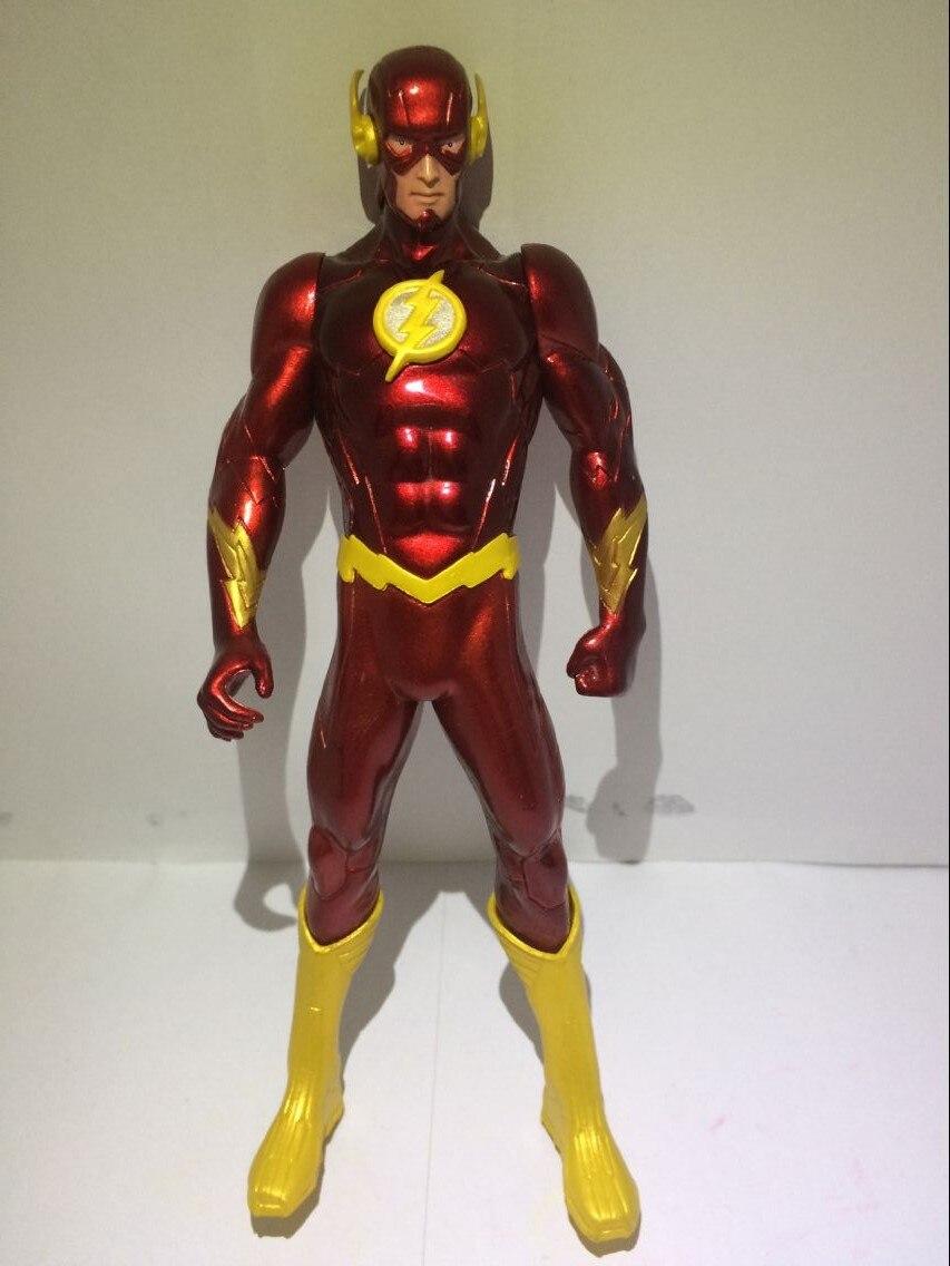 18CM PVC Super Hero Justice League Flash Barry Allen Action Figure - Խաղային արձանիկներ - Լուսանկար 6