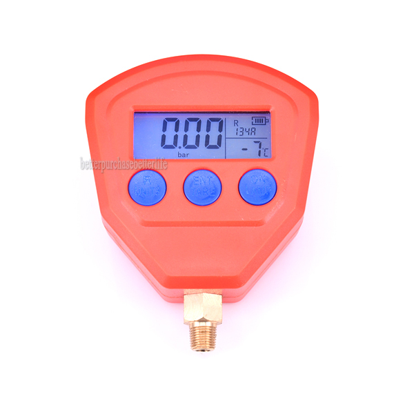 R22 R410 R407C R404A R134A Air Conditioner Refrigeration Vacuum Medical Equipment Battery Powered Digital Pressure Gauge