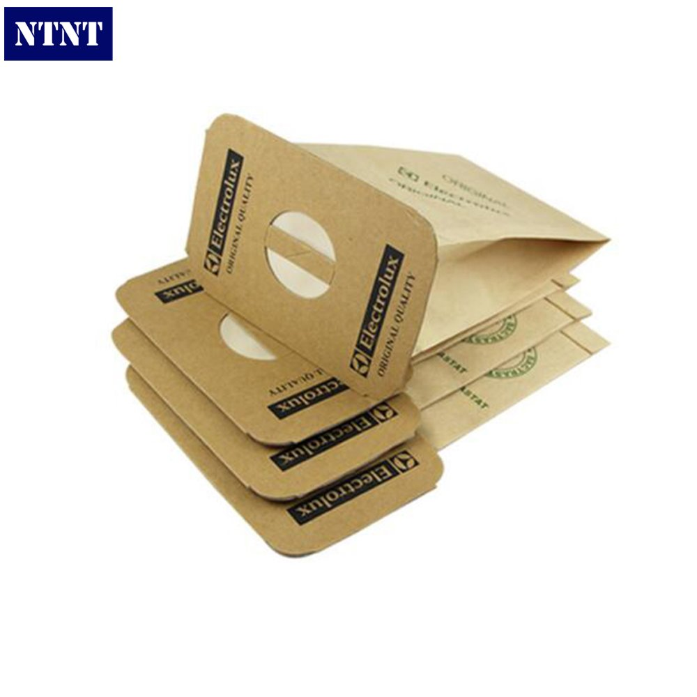NTNT 4 Pieces/lot For Electrolux Vacuum Cleaner Dust Bags Paper Filter Garbage Bag For LUX Z317 Z320 Z325 Z330 Z340 5 pcs lot vacuum cleaner parts filter garbage bag paper dust bags for electrolux zw1100 e37 e39 z2570 e16 ingenio