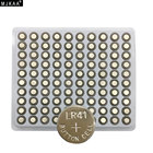 100PCS/Lot LR41 AG3 SR41W 392 192 GP192A LR736 Button Watch Battery Cell Cion Batteries for flashlights,toys,watches