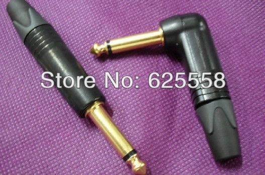 1piece Neutrik np2rx-b gold plated stereo right angle headphone plug терминал rj45 neutrik ne8fdv yk b