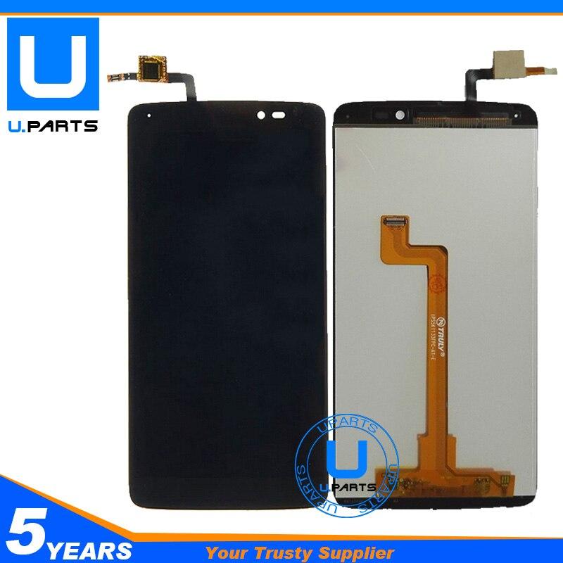 imágenes para Para Alcatel Ídolo 3 6045 6045B 6045 K 6045Y OT6045 OT6045Y Panel de la Pantalla LCD + Digitizador de la Pantalla Táctil de Montaje Completo
