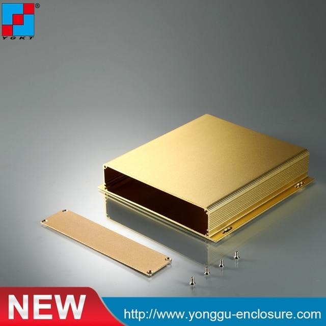 YGK-029 155x32x155 мм (ШхВхГ) Алюминий коробки электроники шкаф gps корпуса экструдированный алюминиевый корпус