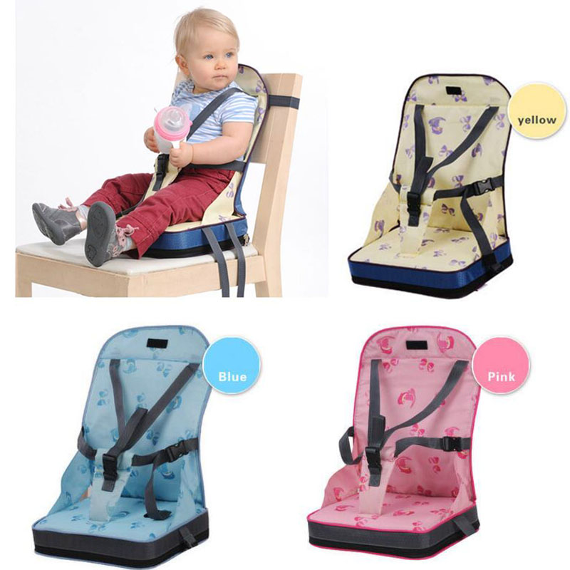Foldable Baby Seat Portable Booster Dinner Chair Oxford Water Proof Chair Seat Feeding Highchair Baby Care Baby Chair Seat 35L