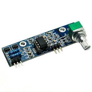 Image 2 - Mini NE5532 Preamplifier Board Com O Potenciômetro de Volume Bordo Terminou