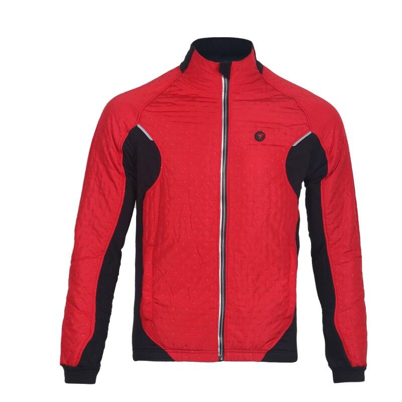 Tasdan vêtements de cyclisme vêtements de cyclisme hommes cyclisme veste thermique veste extérieure trois couches tissu course veste vêtements de plein air - 4