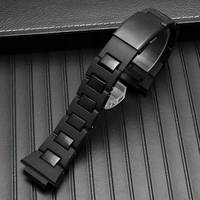 G shock watchband DW 6900/DW9600/DW5600/GW M5610 men watch strap High quality plastic bracelet 16mm