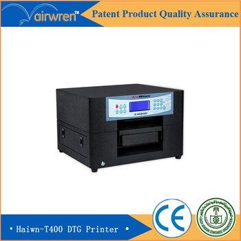 Desktop Digital Textile Printer Price A4 T-shirt Flatbed Printing Machine