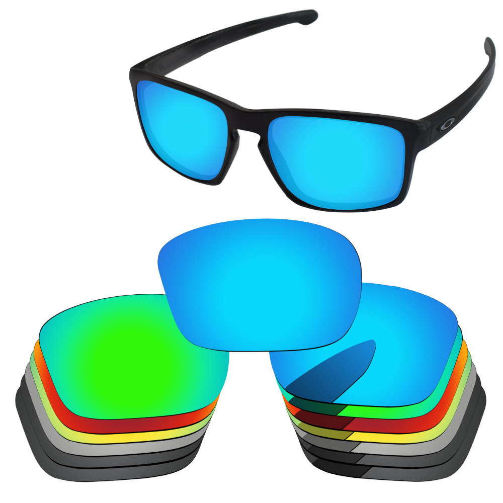 PapaViva POLARIZED Replacement Lenses for Authentic Sliver Sunglasses 100% UVA & UVB Protection - Multiple Options