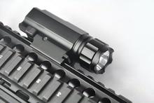 200 Lumens CREE LED Tactical Gun Flashlight Torch Pistol Handgun Weapon Torch Light Lamp with Mount