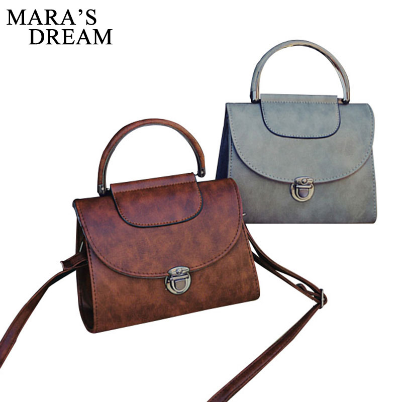 Mara's Dream Shoulder Bag Ladies PU Leather Handbag Women Messenger Crossbody Small Bag Fashion Lock Female Evening Party Clutch