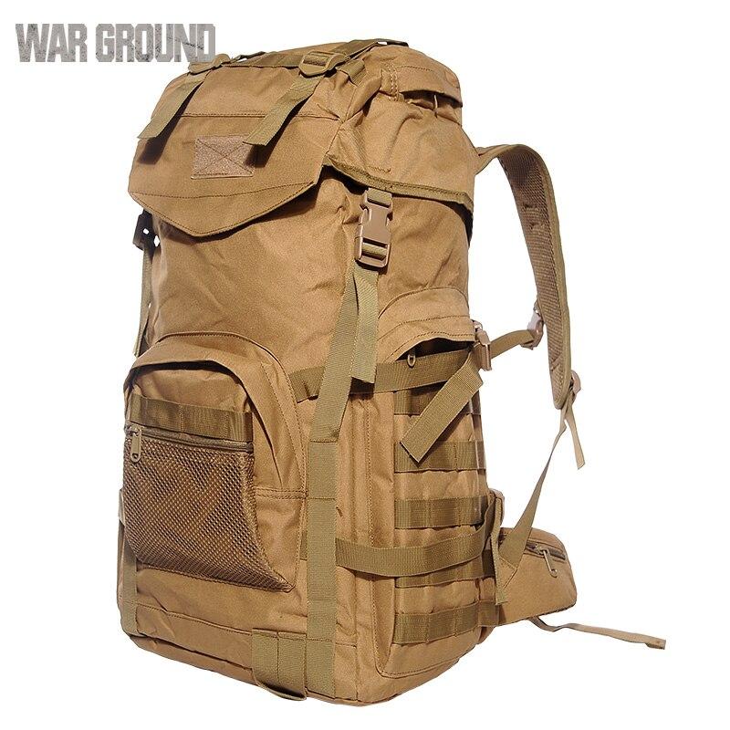 Sac à dos tactique pour hommes sac à dos tactique camouflage grande capacité sac à dos de marche