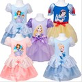 DOZ232 Frete grátis top qualidade do bebê da menina princesa dos desenhos animados vestido de princesa crianças vestidos de roupas infantis de varejo e atacado