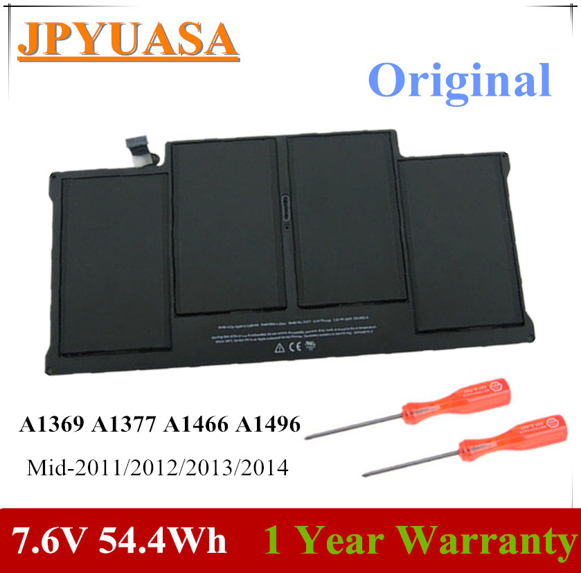 JPYUASA Laptop-Battery A1466 Macbook A1369 A1405 Apple A1377 For Air 13-Mid Late Early