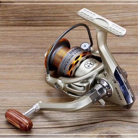 2019 nova pesca bobina 12 1bb aperto de mao de madeira girando carretel de pesca