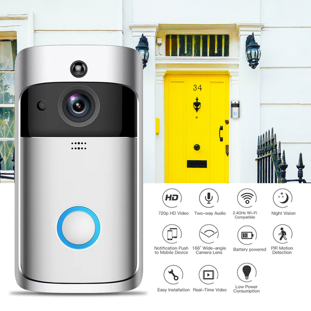 Geekam Doorbell Wireless Security Camera 2