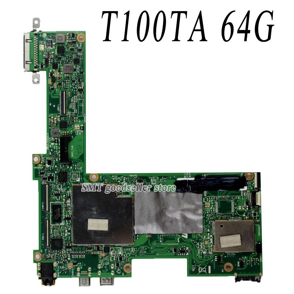 For Asus Transformer Book Motherboard T100TA Mainboard 64GB Fress Shipping планшет asus transformer book t100ha