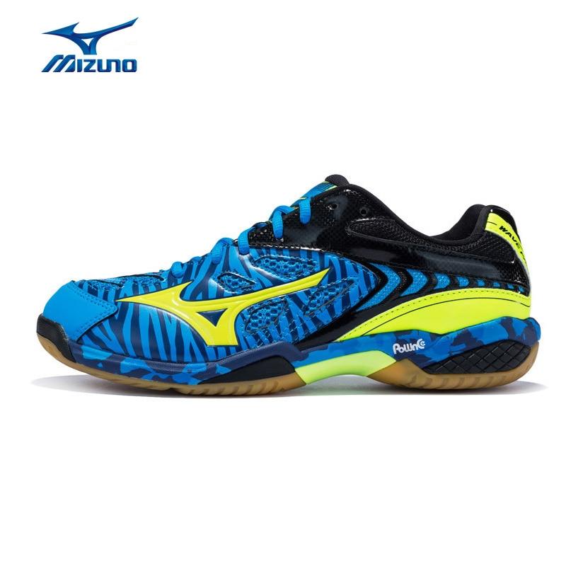 MIZUNO Men WAVE FANG SS2 Badminton Shoes Comfort Light Weight Sports Shoes Breathable Sneakers 71GA171047 71GA171047 mizuno wave paradox 2 mizuno mznj1gc1540