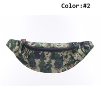 Stocked Basic Rescue Medical Tools Camo Style Sports Waist Bag Outdoor First Aid Kit