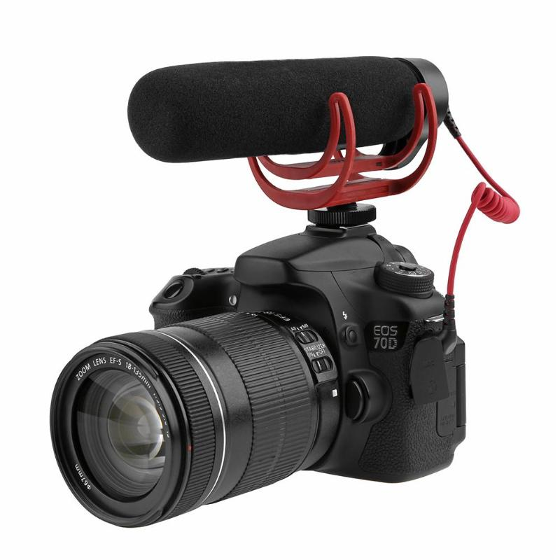 VideoMic GO Condenser Shotgun Microphone Video Interview Reporting Conference Cardioid Mic for Digital DSLR Camera videomic go condenser shotgun microphone video interview reporting conference cardioid mic for digital dslr camera