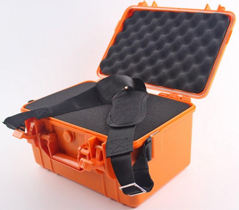 357*269*187 мм Водонепроницаемый случае инструмент Toolbox защитный Камера корпусом прибора окне чемодан ударопрочный с предварительно -cut пены ...