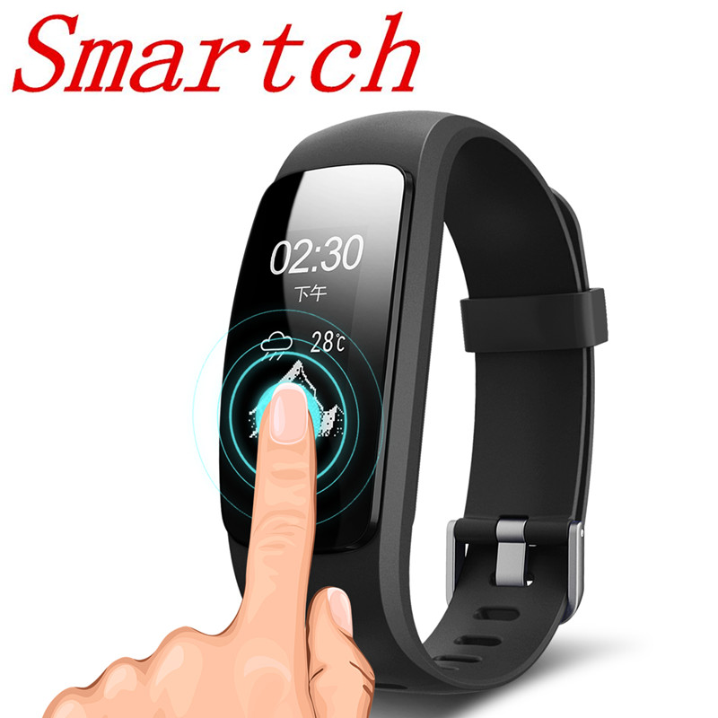 696 ID107 Plus HR Smart Bracelet Heart Rate Monitor ID107Plus GPS Activity Sports Wristb ...
