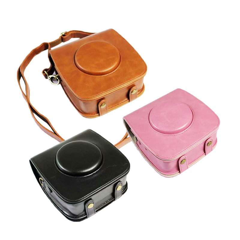 Instax Film Protective Camera Storage Bag Protective Case With Strap For SQ 20