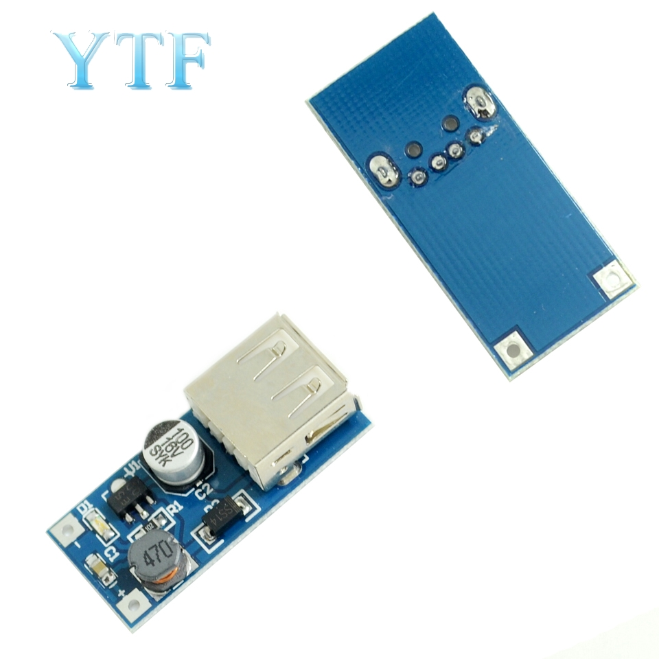 0.9V-5V To 5V DC-DC USB Voltage Converter Step Up Booster Power Supply Module 600mA PFM Control Mini Mobile Booster