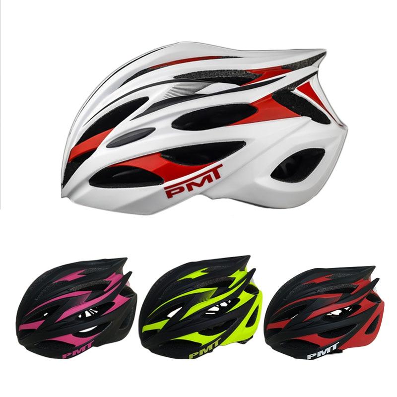 PMT High Quality Breathable Road Mountain MTB Bike Helmet Cycling Helmet Ultralight In mold Bicycle Helmet
