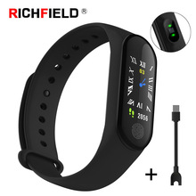 Smart Bracelet Waterproof Blood Pressure Heart Rate Sleep Monitor OLED Smartband Wristband Fitness ActivityTracker Smart Band недорого