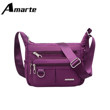 Crossbody Bags for Women Fashion Shoulder messenger Waterproof Oxford Cloth Leisure Travel Shopping Functional Bags стоимость