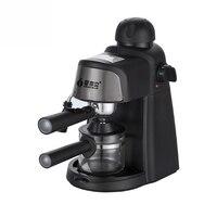 Italiano máquina de café semiautomática vapor 5 bar bomba pressão doméstica comercial elétrica leite frother cm6810