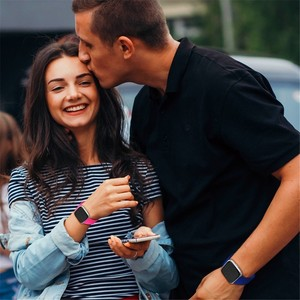 Image 5 - Coolaxy רצועת עבור Fitbit Versa להקת חכם שעון יד צמיד להקת עבור Fitbit Versa לייט רצועת סיליקון החלפת Fit קצת