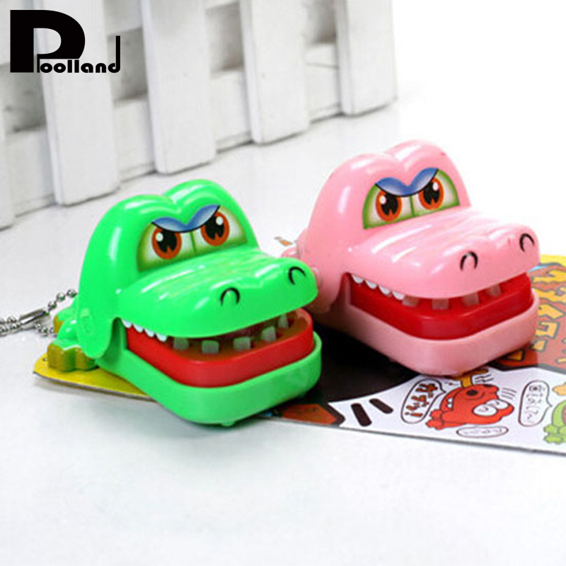 Baby Crocodile Toys Kids Large Crocodile Mouth Dentist Bite Finger Game Funny Toy Chains For Children Kids Birthday Gifts P20