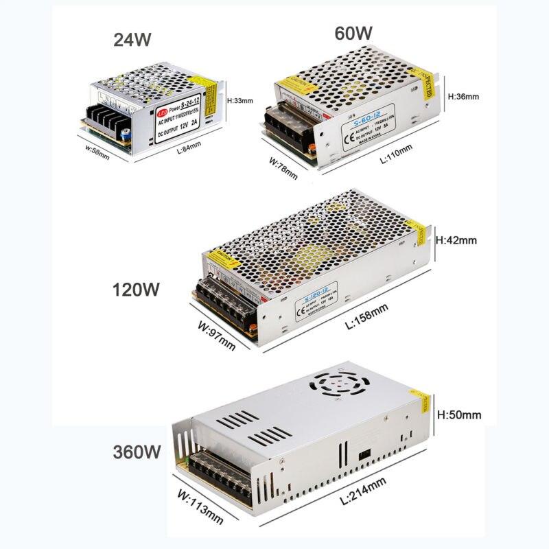 Transformator za rasvjetu 12V 24W 60W 120W 360W Dobavljač napajanja - Različiti rasvjetni pribor - Foto 5