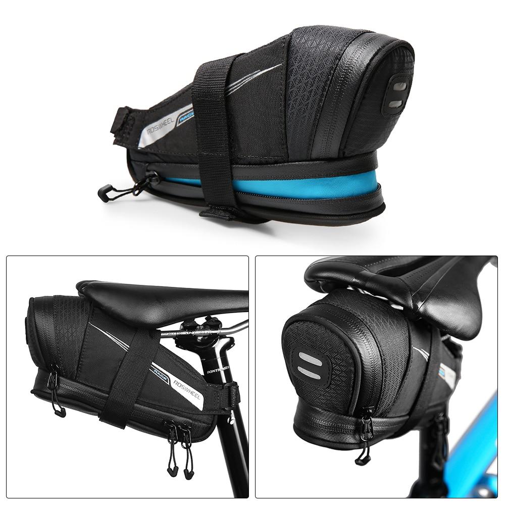 Roswheel Racek Series Bicycle Tail Bag Bike Saddle Bags Cycling Riding Equipment