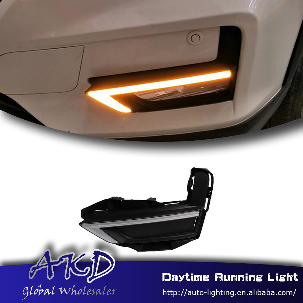 Running-Light Signal Led Daytime Yellow-Turning Nissan x-Trail for Drl with Car-Style