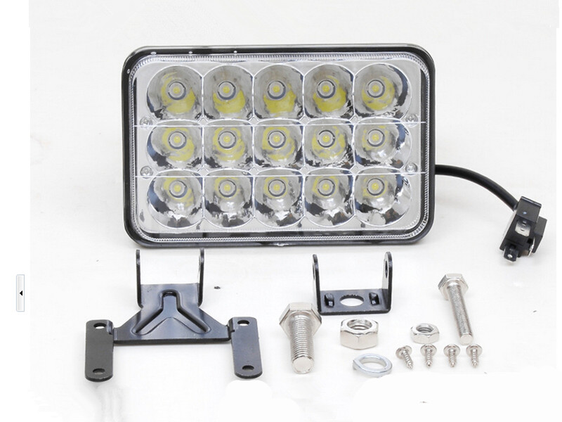 Led Bulbs & Tubes Buy Cheap 2pcs/lot Free Shipping 45w Led Work Light Fog Driving Replacement Suv 4x4 Truck Headlamp Dc12-24v Vivid And Great In Style